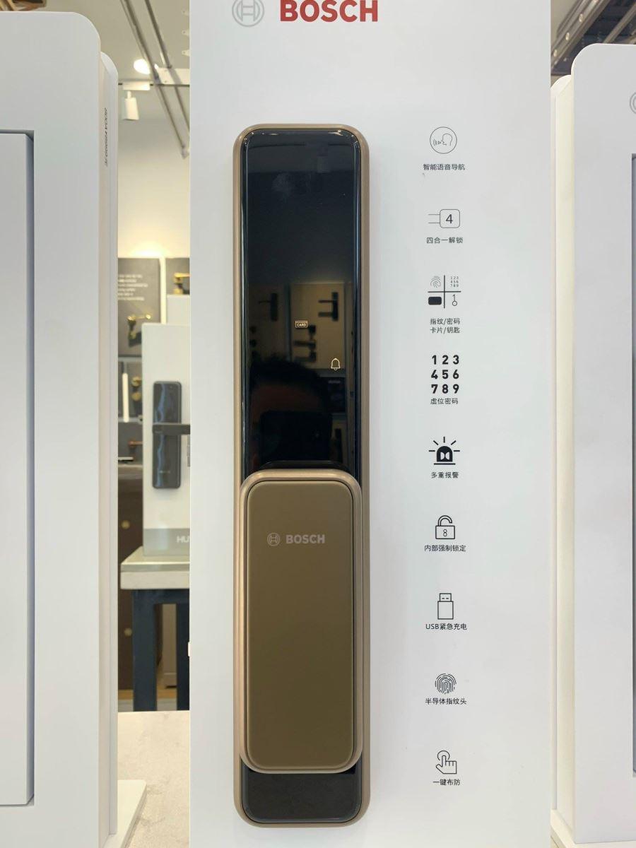 Khóa cửa Bosch EL 600K màu đồng( EU)