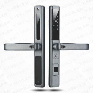 Khóa cửa nhôm Kassler KL-599LX DarK Grey